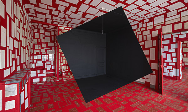 Exposition Georges Rousse au Bonisson Art Center
