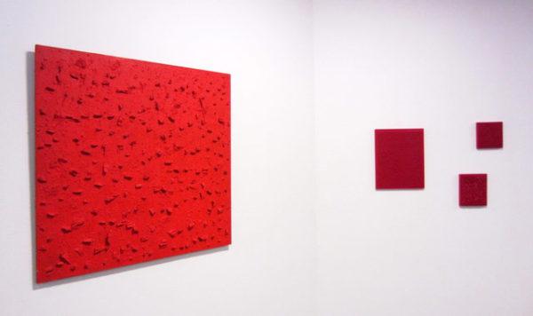 Exposition Bernard Aubertin au Bonisson Art Center